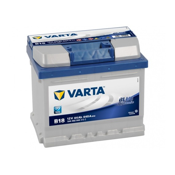 VARTA Blue Dynamic Batteri 12V 44AH 440CCA (207x175x175/175mm) +høyre B18